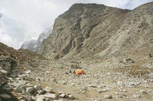 nepal trekking angpa la lunag