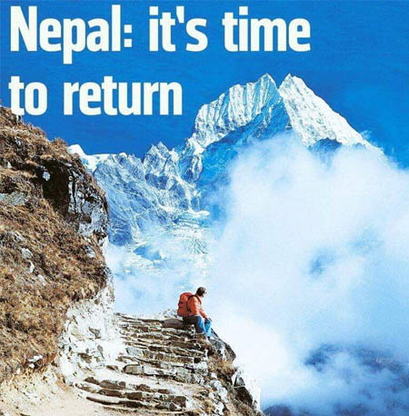 Nepal it is time to return x450.