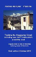Trekking the Annapurna cover front y250